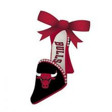 Chicago Bulls Team High Heel Shoe Ornament