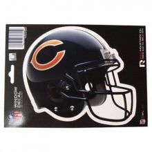 """Chicago Bears 6"""" Helmet Die-Cut Window Decal"""