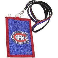 Montreal Canadiens Beaded Lanyard I.D. Wallet