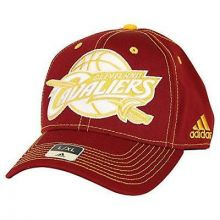 Cleveland Cavaliers Hard Court Stiched Flex Fit S/M Hat