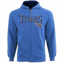 Tennessee Titans  Youth Full Zip Hoodie Jacket (Med 10/12)