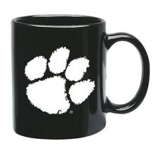 Clemson Tigers 15 oz Black Ceramic Coffee Cup