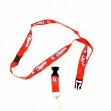 LA Clippers Team Color Breakaway Lanyard Key Chain