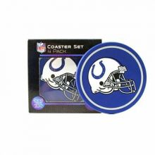 Indianapolis Colts 4 pack Flexible Coaster Set