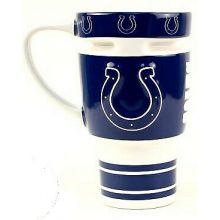 Indianapolis Colts Sculpted Travel Mug with Lid, 15oz