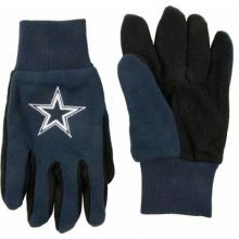 Dallas Cowboys Navy with Black Palm Utility Gloves