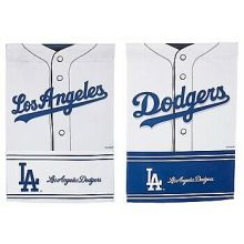 Los Angeles Dodgers 2 Sided Suede Foil Garden Flag