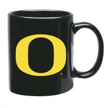 Oregon Ducks 15 oz Black Ceramic Coffee Cup