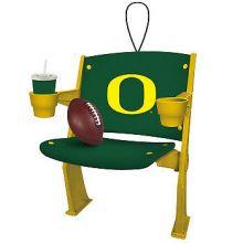 Oregon Ducks Stadium Chair Ornament