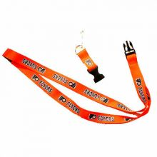 NHL Philadelphia Flyers Team Color Breakaway Lanyard Key Chain