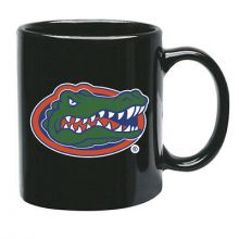 Florida Gators 15 oz Black Ceramic Coffee Cup