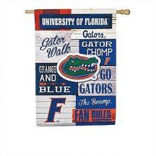 Florida Gators Vertical Linen Fan Rules Garden Flag