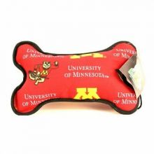 Minnesota Golden Gophers Squeeky Dog Bone Toy
