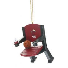 Miami Heat Team Stadium Chair Ornament