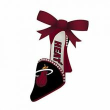 Miami Heat Team High Heel Shoe Ornament
