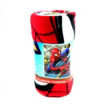 "High Adventure Spiderman 50"" x 60"" Fleece Throw"