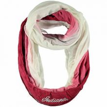 Indiana Hoosiers Ombre Infinity Scarf
