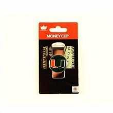 Miami Hurricanes Dome Money Clip