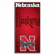 "Nebraska Cornhuskers  30"" x 60"" Shadow Logo  Beach Towel"