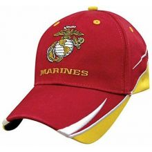 Officially Licensed Marines Swich Billed Hat Cap Lid
