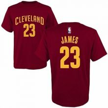 NBA Licensed Clevaland Cavaliers Lebron James #23 CHILD T-Shirt (Small 4)