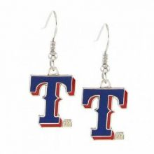 Texas Rangers Round Dangle Earrings