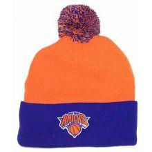 New York Knicks Orange Cuffed Pom Beanie Hat Cap Lid