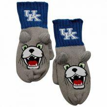 Kentucky Wildcats Knit Mascot Texting Mittens