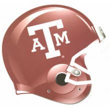 """Texas A&M 6"""" X 7"""" Car Magnet"""