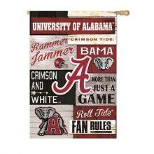 Alabama Crimson Tide Faux Fur Ball Ornament