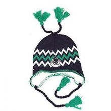 NHL Officially Licensed Vancouver Canucks Sherpa Lined Tassel Beanie Hat Cap Lid