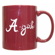 Alabama Crimson Tide Team Colors Girl 12oz  Mug