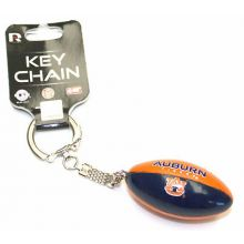 Auburn Tigers Hanging Football Keychain