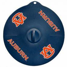 "Auburn Tigers 9"" Silicone Lid"