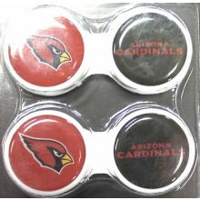Arizona Cardinals 2 Pack Contact Lens Case