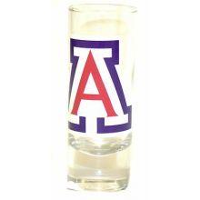 Arizona Wildcats 2 oz Cordial Shot Glass