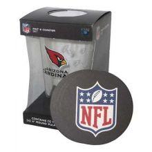 Arizona Cardinals Pint and Coaster Set