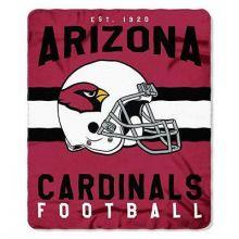 "Arizona Cardinals 50"" x 60"" Singular Fleece Throw Blanket"