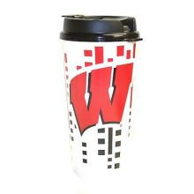 Wisconsin Badgers 32-ounce Single Wall Hype Tumbler