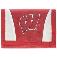Wisconsin Badgers Tri-Fold Nylon Chamber Wallet