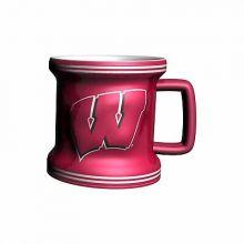 Wisconsin Badgers 2 oz Mini Mug Shot Glass
