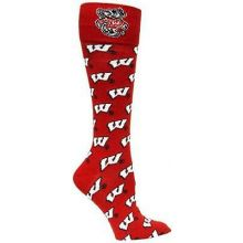 Wisconsin Badgers Repeater Dress Socks