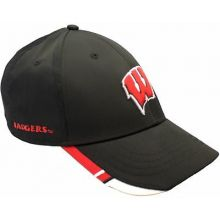 Wisconsin Badgers Strike Adjustable Hat