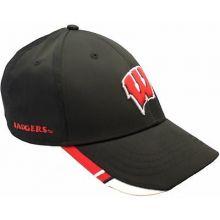Wisconsin Badgers Strike Adjustable Hat