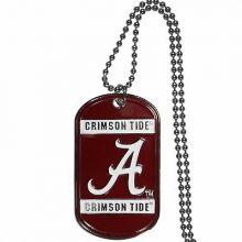Alabama Crimson Tide Dog Tag necklace