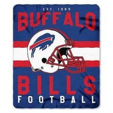 "Buffalo Bills 50"" x 60"" Singular Fleece Throw Blanket"