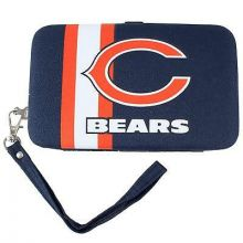 Chicago Bears Distressed Wallet Wristlet Case