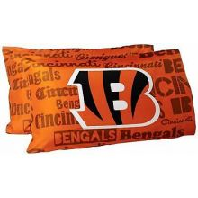 Cincinnati Bengals 2 Pack Team Pillowcases