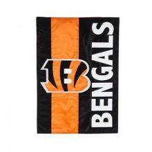 Cincinnati Bengals Embellish Garden Flag