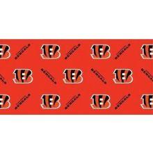 Cincinnati Bengals Gift Wrap Sheets 12.5 sq. ft